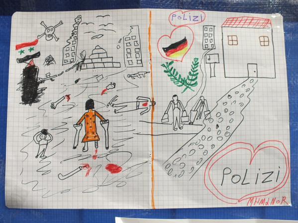 Flüchtlingsbild